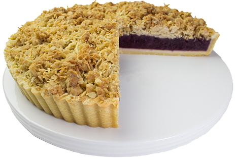 Apple & Blueberry Crumble 28cm  Large  Gateaux Tarts 28cm
