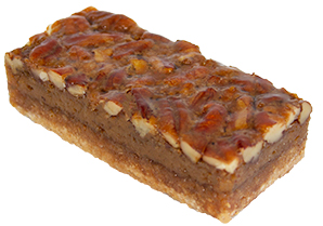 Bourbon Street Pecan Slice  Individual  Delights Slices