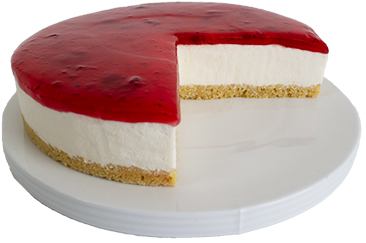 Coldset Strawberry Cheesecake  Large  Gateaux Coldset Cheesecakes