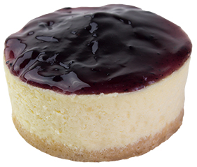 Classic Blueberry Cheesecake  Individual  Delights Classics