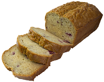 Pear And Raspberry Bread  Large  Bakes Fruit Breads