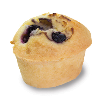 Blueberry Friands  Individual  Bites Friands