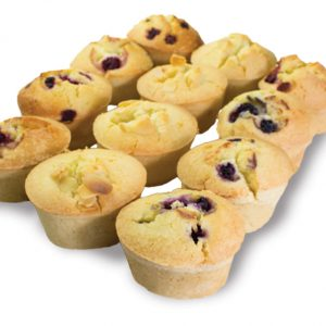 Mixed Friands  Individual  Bites Friands