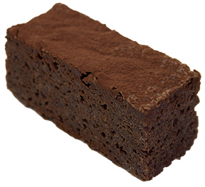 Gluten Free Brownie Slice  Individual  Delights Slices