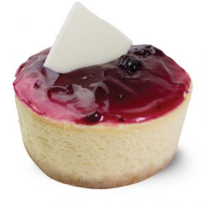Gluten Free Classic Blueberry Cheesecake  Individual  Delights Classics