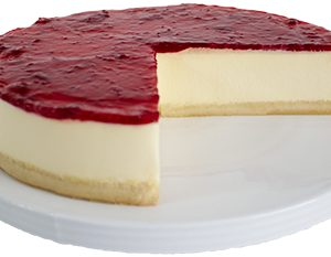 Gluten Free Strawberry Cheesecake  Large  Gateaux Cheesecakes