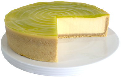Lime Cheesecake  Large  Gateaux Cheesecakes