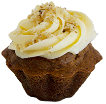 Gluten Free Mini Carrot And Pineapple Cake  Individual  Treats Mini Flourless