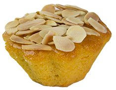 Mini Flourless Orange And Almond  Individual  Treats Mini Flourless