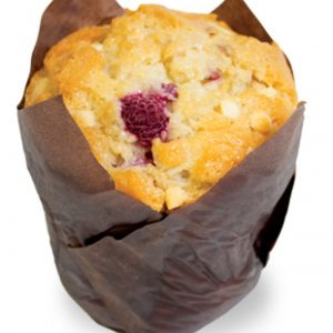 Raspberry And White Chocolate Muffin  Individual  Delights Muffins