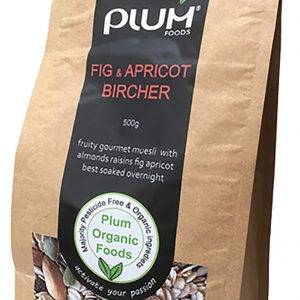 Fig and Apricot Bircher Muesli 1kg  Other-Stores  Plumfoods Granola