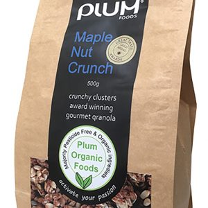 Maple Nut Crunch Granola 1kg  Other-Stores  Plumfoods Granola
