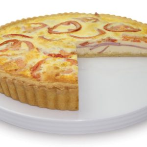 Ham And Tomato Quiche 28cm  Large  Savoury Quiche