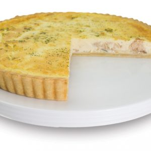 Salmon And Dill Quiche 28cm  Large  Savoury Quiche