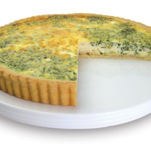 Spinach And Feta Quiche 28cm  Large  Savoury Quiche