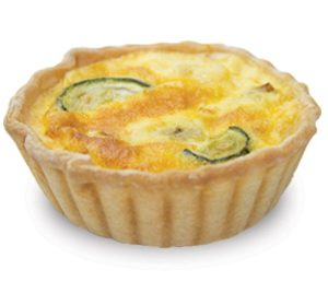 Vegetarian Quiche 10cm  Large  Savoury Quiche
