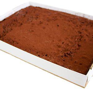 Gluten Free Chocolate Brownie Slab  Large  Bakes Slabs