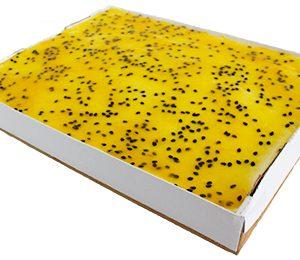 Passion Mango Mousse Slab  Large  Bakes Slabs