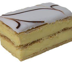 Vanilla Slice  Individual  Delights Slices